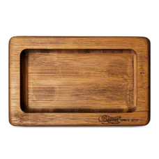 Beamer Pocket Natural Bamboo Rolling Tray 6 X 3.5 inch