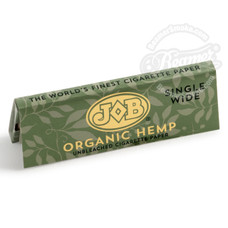 Job Organic Hemp Single Wide Rolling Paper - You Pick Quantity