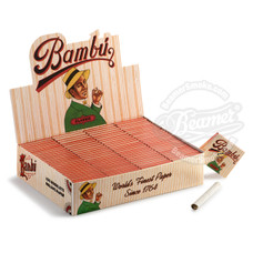 Bambú Classic 1 ¼ Size Rolling Paper - You Pick Quantity