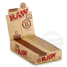 Raw Organic 1 ¼ Size Rolling Papers