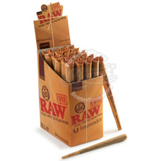 "Raw Natural ""Emperador"" Pre-Rolled Paper Cones - 1 Count Packs"
