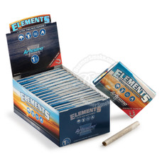 Elements Artesano 1 ¼ Size Rolling Paper with Tips and Tray - You Pick Quantity