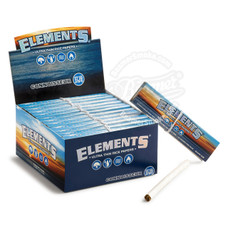 Elements Connoisseur King Size Rolling Paper with Tips - You Pick Quantity