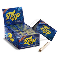 Trip 1 1/4 Size Transparent Rolling Paper - You Pick Quantity
