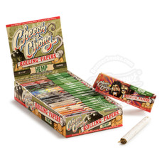 Cheech and Chong Hemp 1 ¼ Size Rolling Paper - You Pick Quantity
