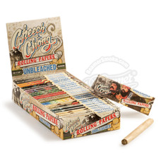 Cheech and Chong Unbleached 1 ¼ Size Rolling Paper - You Pick Quantity