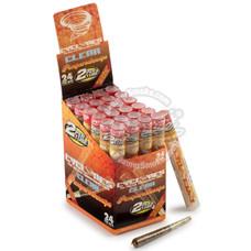 Cyclones Pimperschnapps Flavor Transparent Cones - 2 Count Packs