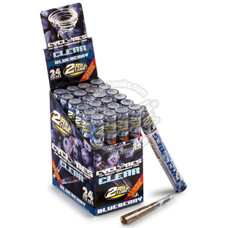 Cyclones Blueberry Flavor Transparent Cones - 2 Count Packs