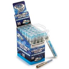 Cyclones Ice Dream Flavor Transparent Cones - 2 Count Packs