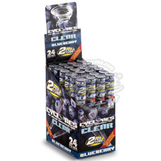 Cyclones Chill Blue Flavor Transparent Cones - 2 Count Packs