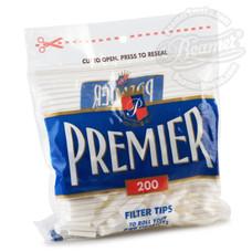 Premier Cotton Filter Tips - 200-Count Pack