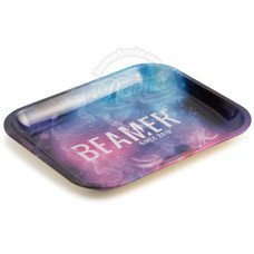 """Beamer Large Metal Rolling Tray, Outer Space Design - 13.5"""" x 11"""""""
