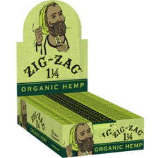 Zig Zag Organic Hemp 1 ¼ Size Rolling Papers
