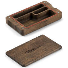 Beamer Pocket Natural Bamboo Rolling Box - Original