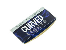 Curved Lights 1 1/4 Size Rolling Paper with Curved Rolling Edge
