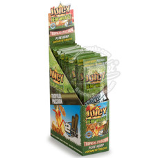 Juicy Jay's Tropical Passion Flavor Hemp Wraps - 2 Count Packs