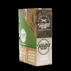 Twisted Just Hemp Flavor Designer Hemp Wraps - 2 Count Packs