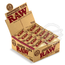 Raw Wide Perforated Rolling Tips