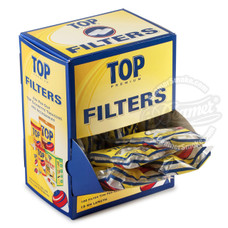 Top Regular Cotton Filter Tips - 100-Count Bag