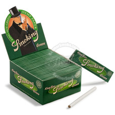 Smoking Green Hemp King Size Rolling Papers