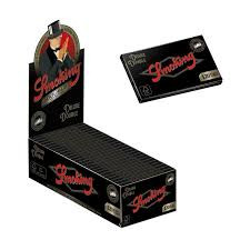 Smoking Deluxe Single Wide Size Rolling Papers - Double Feed