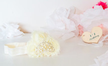 Baby Princess Headband - Lemon