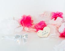 Baby Sequin Bow Headband - White