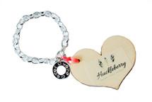 Fairy snow charm bracelet