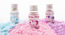 Unicorn Flurry bottles trio