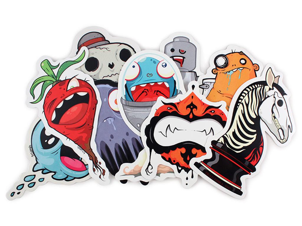 Creatures in my Head Sticker Pack