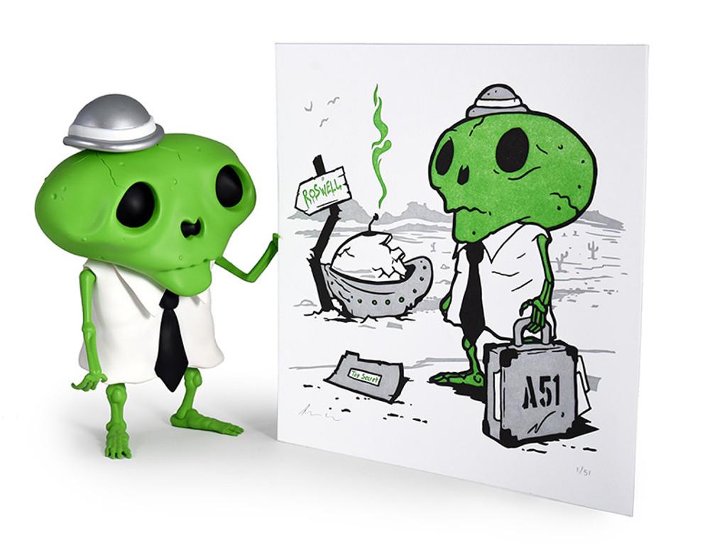 Karoshi San : Area 51 Print