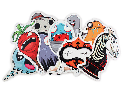 Creatures in my Head Sticker Pack