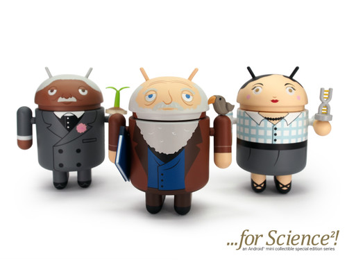 Android Mini For Science Series 2- Set of 3
