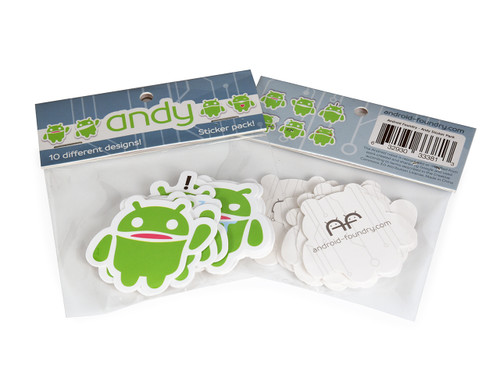 Andy sticker pack