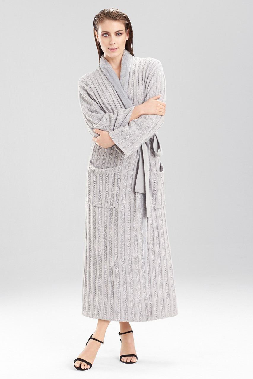 Buy Natori Cable Knit With Sherpa Robe From Natori At The