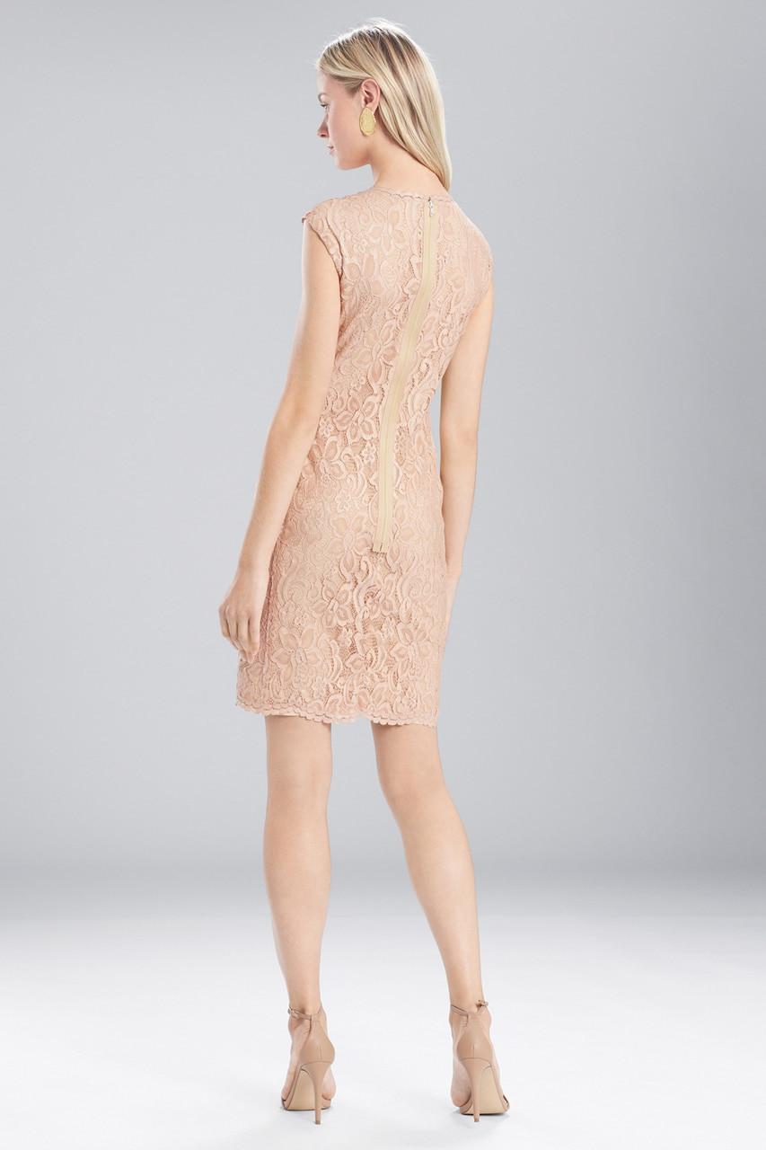 Josie natori lace dress