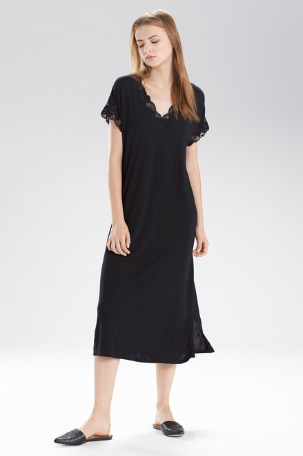 Natori Zen Floral T-Shirt Gown at The Natori Company