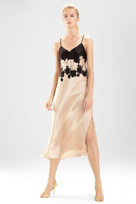 Buy Josie Natori Bold Blossom Embroidered Gown from