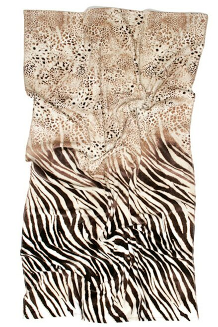 Safari Beach Towel at The Natori Company