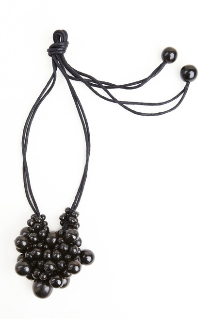 Josie Natori Horn Cluster Long Necklace at The Natori Company