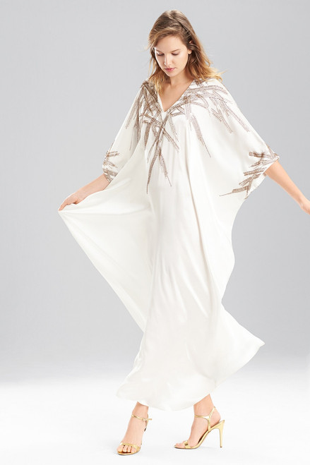 Buy Josie Natori Couture Beaded Ikat Caftan from