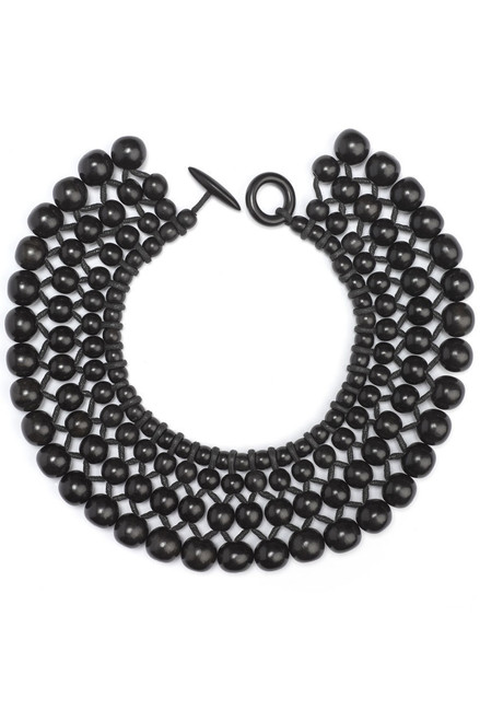 Buy Josie Natori Four Layer Beaded Necklace from