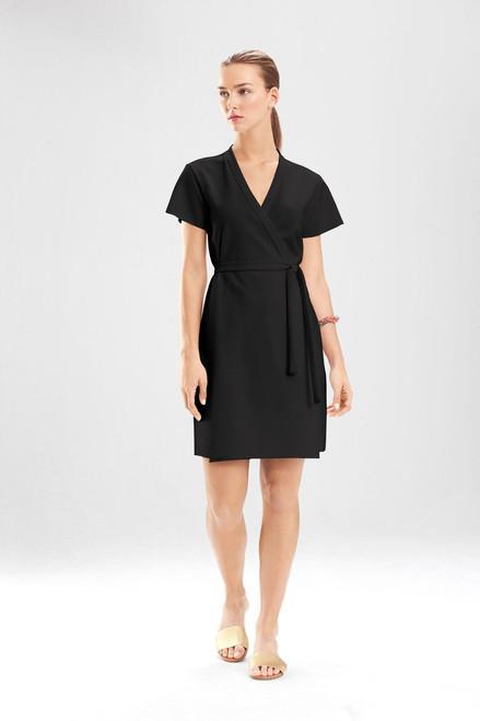 Buy Ponte Wrap Dress from