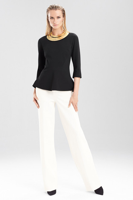 Buy Double Knit Jersey Straight Leg Pants from