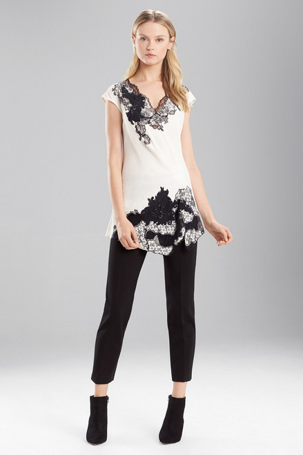 Buy Satin Back Crepe Sleeveless Top from