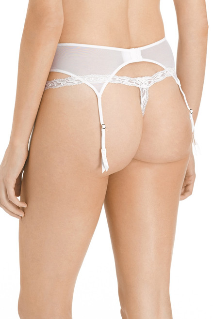 Natori Feathers Garter Belt at The Natori Company