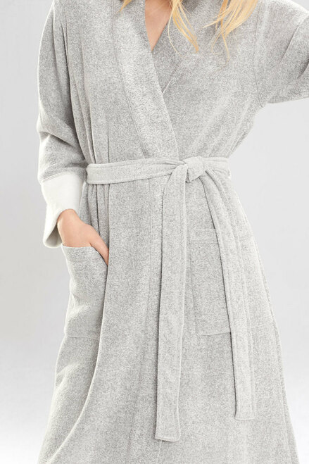 Nirvana Brushed Terry Robe at The Natori Company