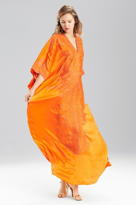 Buy Josie Natori Couture Modern Ikat Caftan from