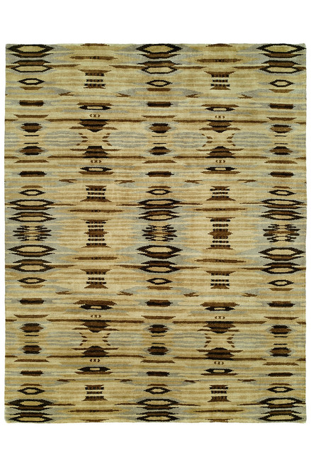 Buy Natori Dynasty- Ethnic Ikat Light Tones Rug from