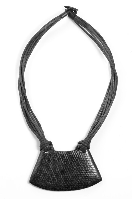 Josie Natori Snakeskin Necklace at The Natori Company